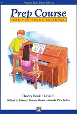 Alfred Publishing Alfred's Basic Piano Prep Course Theory -Book E