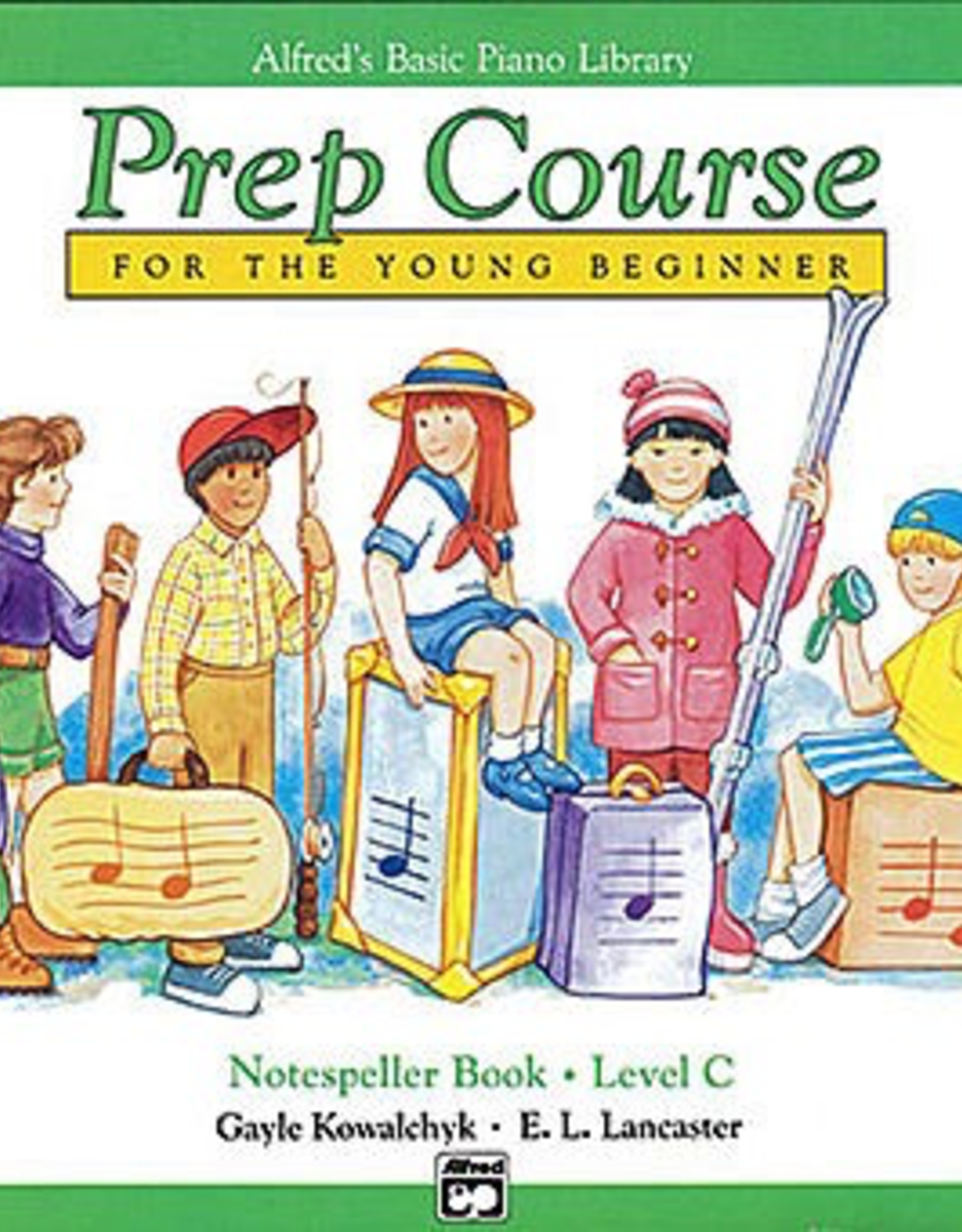 Alfred Music Alfred's Basic Piano Prep Course Notespeller -Book C