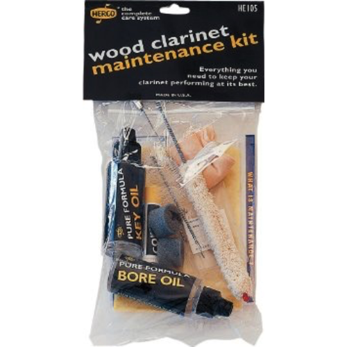 Dunlop Herco Wood Clarinet Maintenance Kit