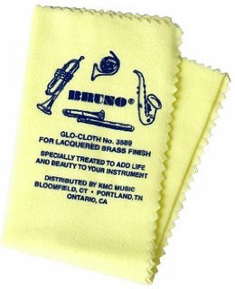 Bruno Bruno Glo Cloth for Lacquered Brass Instruments