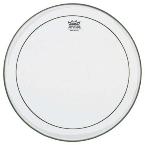 """Remo 14"""" Clear Pinstripe Batter"""