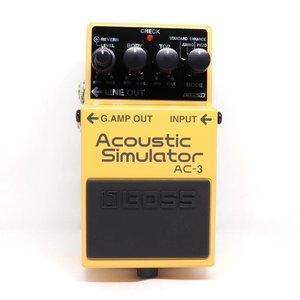 Boss BOSS AC-3 Acoustic Simulator Pedal