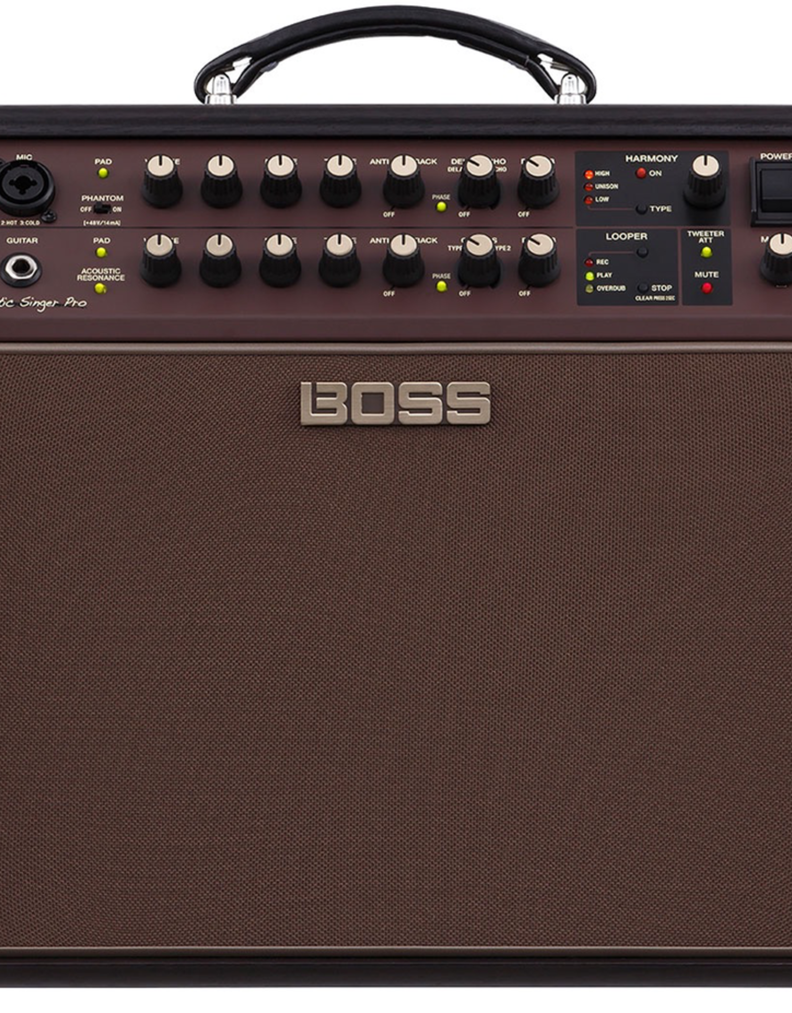 Boss BOSS Acoustic Singer Pro 120-watt Bi-amp Acoustic Combo with FX