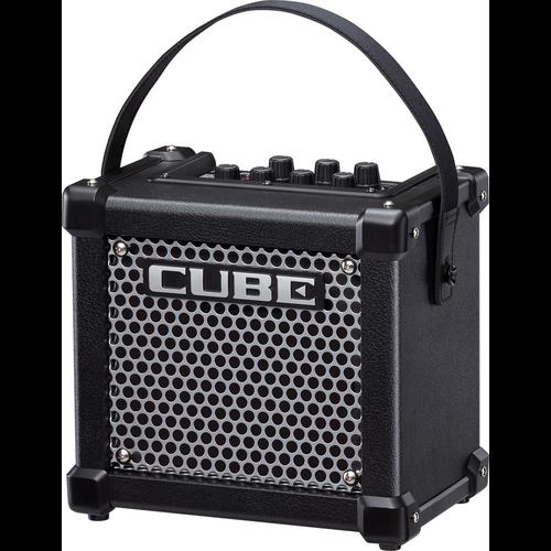 "Roland Roland Micro Cube GX 3-watt 1x5"" Battery Powered Combo Amp - Black"