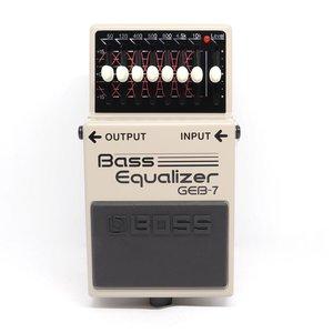Boss BOSS GEB-7 7-band Bass EQ Pedal