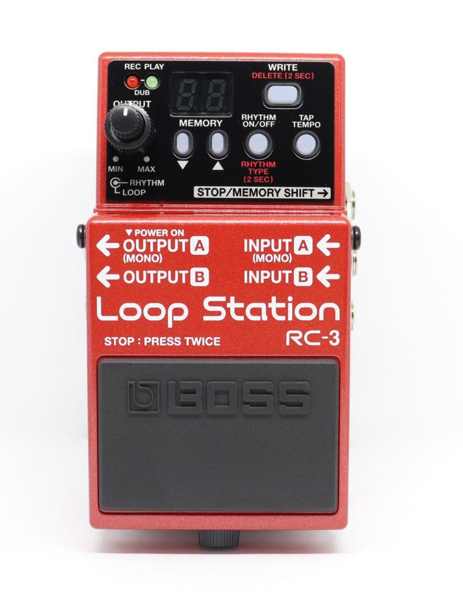 Boss BOSS RC-3 Loop Station Compact Phrase Recorder Pedal