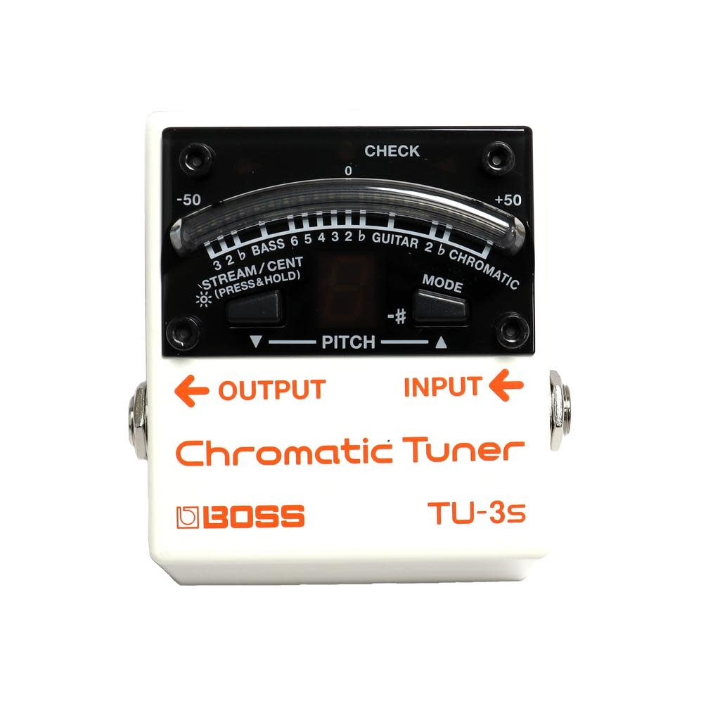 Boss BOSS TU-3S Chromatic Tuner and Power Supply