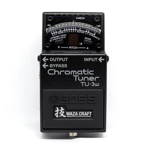 Boss BOSS TU-3W Waza Craft Chromatic Tuner with Bypass