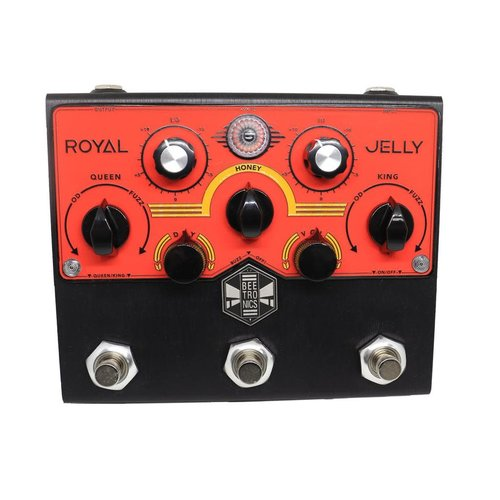 Beetronics Beetronics Limited Edition Red & Black Royal Jelly Overdrive/Fuzz Blender