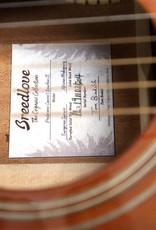Breedlove Breedlove Performer Concert Bourbon CE Torrefied European-African Mahogany w/Gig Bag