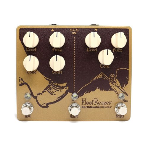 EarthQuaker Devices EarthQuaker Devices Hoof Reaper Octave Fuzz V2