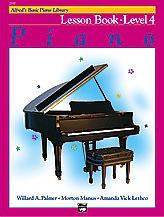 Alfred Publishing Alfred's Basic Piano Course - Lesson Book: Level 4