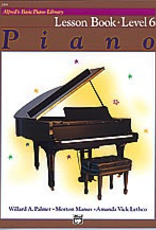 Alfred Music Alfred's Basic Piano Course - Lesson Book: Level 6