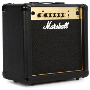 "Marshall Marshall MG15G - 1x8"" 15 Watt Combo w/2-Channels & MP3 Input"