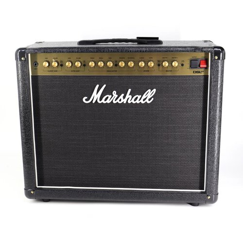 "Marshall Marshall DSL 40CR - 40W all valve 2 channel 1x12"" combo with Resonance, digital Reverb, Celestion V-type speaker"