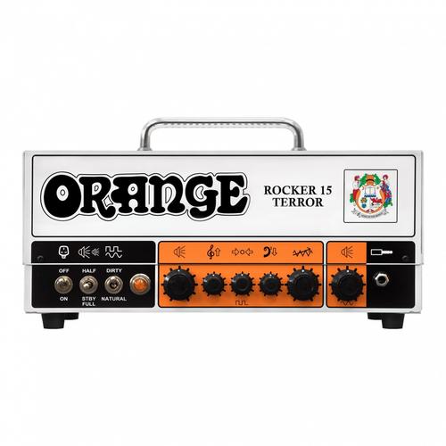 Orange Orange Rocker 15 Terror Head w/Gig Bag