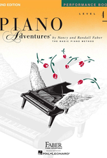 Faber Hal Leonard Faber Piano Adventures Level 4 - Performance Book
