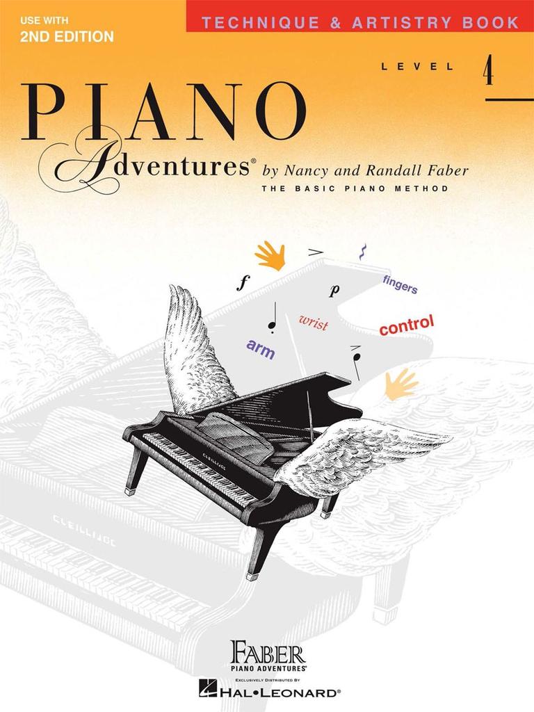Faber Hal Leonard Faber PIano Adventures Level 4 - Technique & Artistry