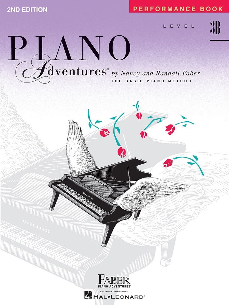 Faber Hal Leonard Faber Piano Adventures Level 3B - Performance Book