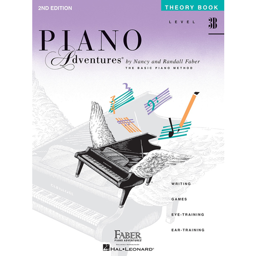 Faber Hal Leonard Faber Piano Adventures Level 3B - Theory Book