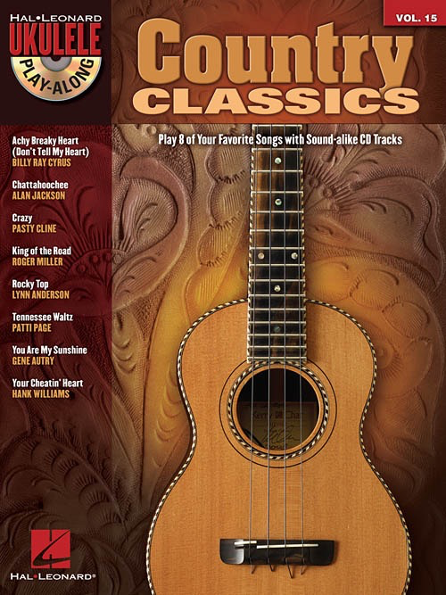 Hal Leonard Hal Leonard Ukulele Play-Along: Country Classics