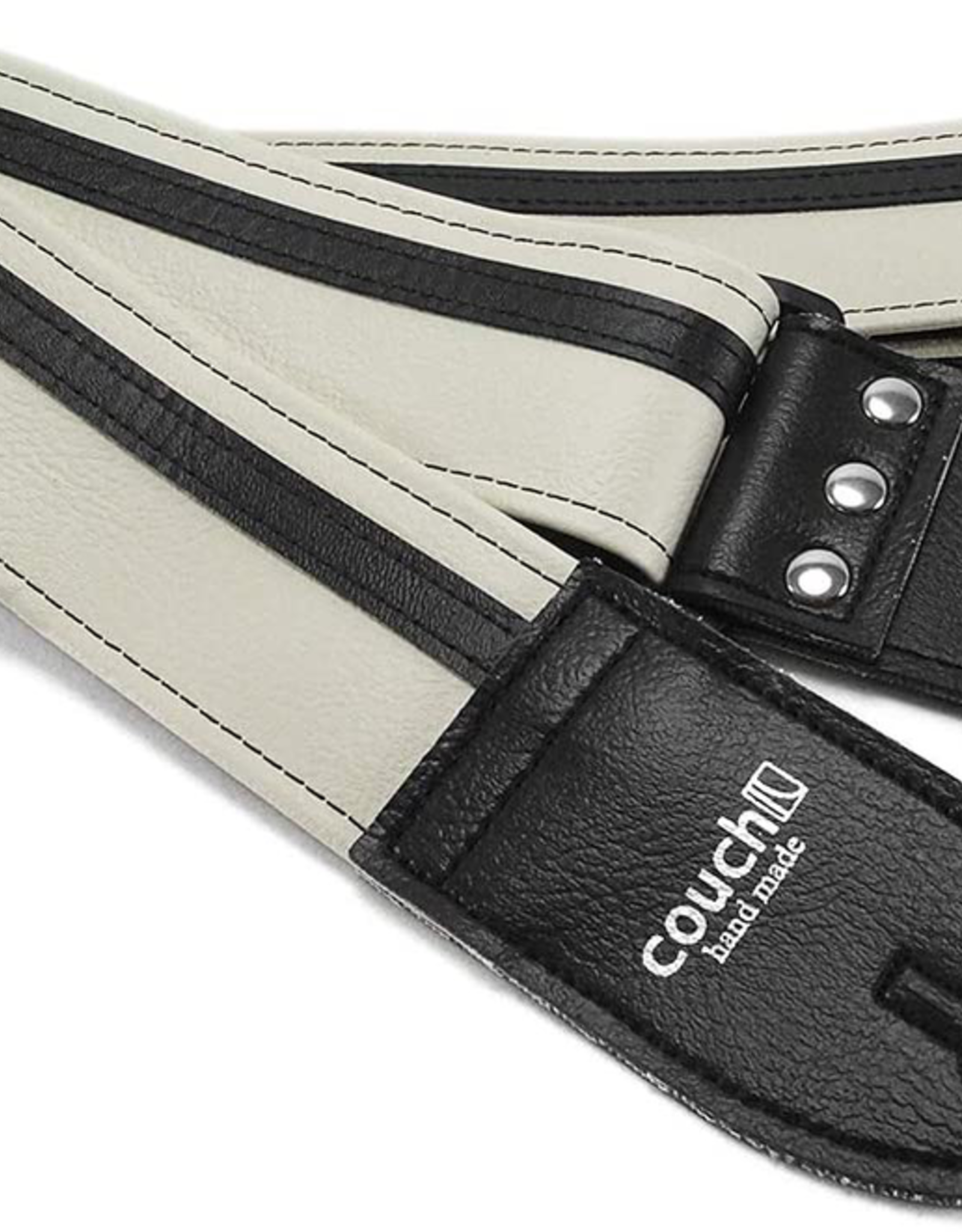 Couch Straps Couch Straps White w/ Black Racer X