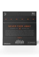 D'Addario D'Addario XT Coated Acoustic 80/20 Bronze, Extra Light, 10-47