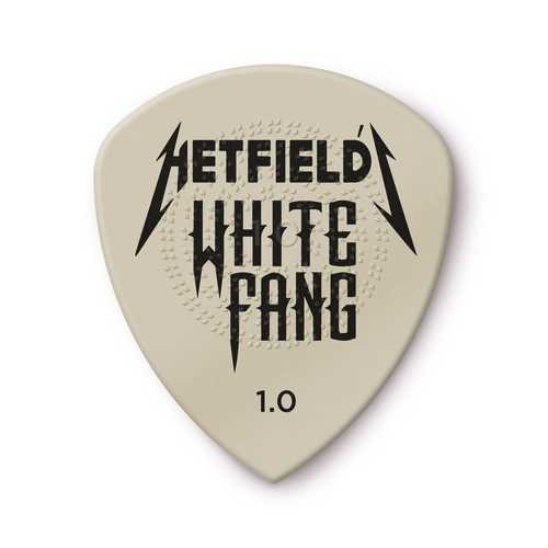 Dunlop Dunlop James Hetfield White Fang Custom 1.00mm Guitar Picks — 6-Pack