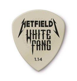 Dunlop Dunlop James Hetfield White Fang Custom 1.14mm Guitar Picks — 6-Pack