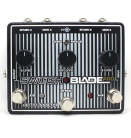 Electro-Harmonix Electro-Harmonix Switchblade Pro - Deluxe Switching Box, 9.6DC-200 PSU included