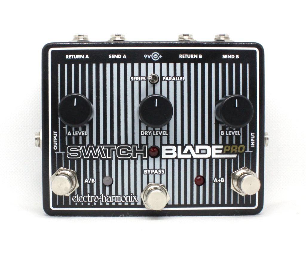 Electro-Harmonix Electro-Harmonix Switchblade Pro - Deluxe Switching Box, 9.6DC-200 PSU included