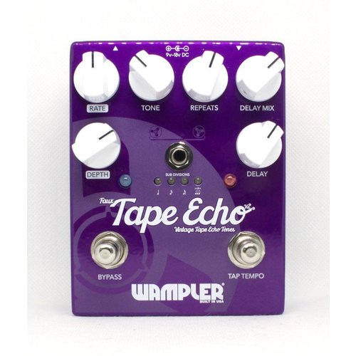 Wampler Wampler Faux Tape Echo with Tap Tempo