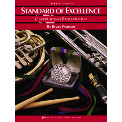 Kjos Standard Of Excellence Comprehensive Band Method: Drums & Mallet Percussion Book 1