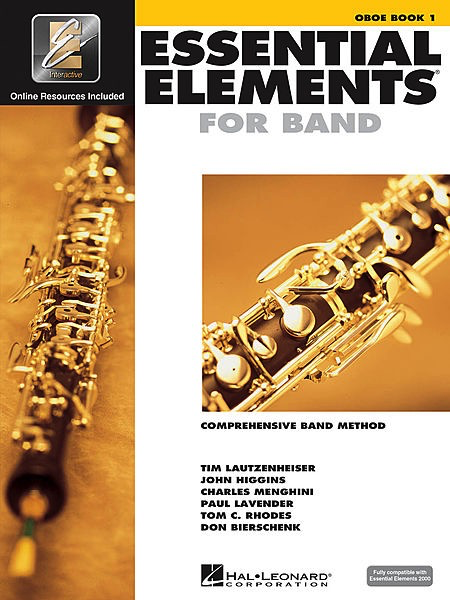 Hal Leonard Hal Leonard Essential Elements for Band – Book 1 for Oboe with EEi