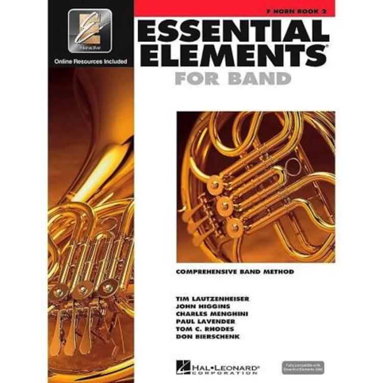 Hal Leonard Hal Leonard Essential Elements – Book 2 French Horn