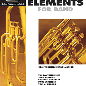 Essential Elements for Band – Baritone T.C. Book 1 with EEi