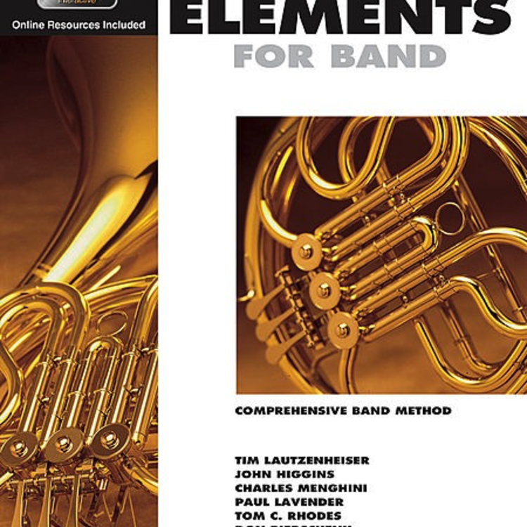 Hal Leonard Hal Leonard Essential Elements for Band – French Horn Book 1 with EEi ( F Horn)