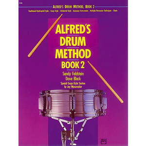 Alfred Music Alfred's Drum Method, Book 2