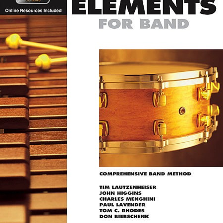 Hal Leonard Hal Leonard Essential Elements for Band Percussion– Book 1 with EEi