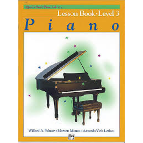 Alfred Music Alfred's Basic Piano Course - Lesson Book: Level 3