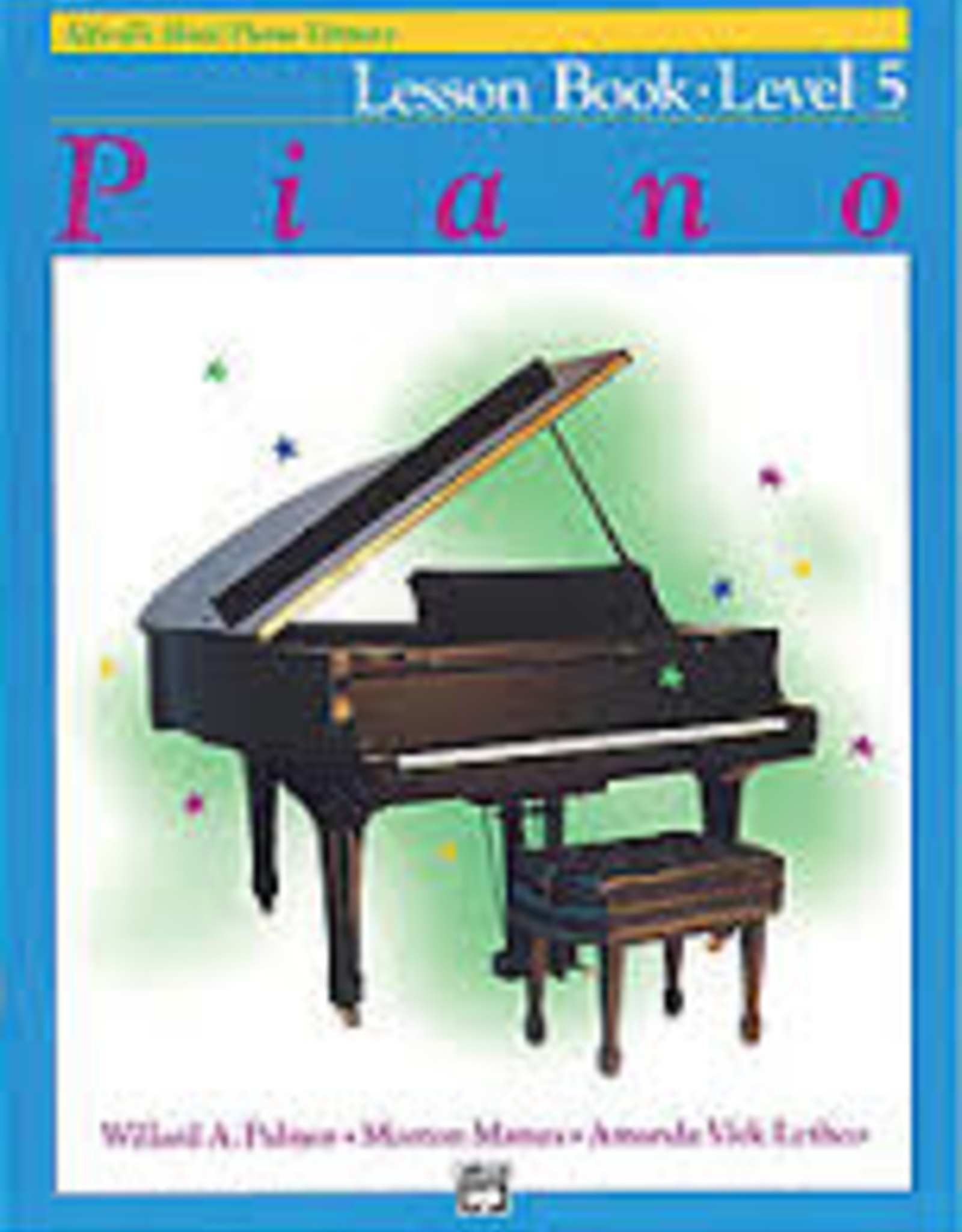 Alfred Music Alfred's Basic Piano Course - Lesson Book: Level 5