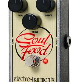 Electro-Harmonix Electro-Harmonix Soul Food - Transparent Overdrive, 9.6DC-200 PSU included