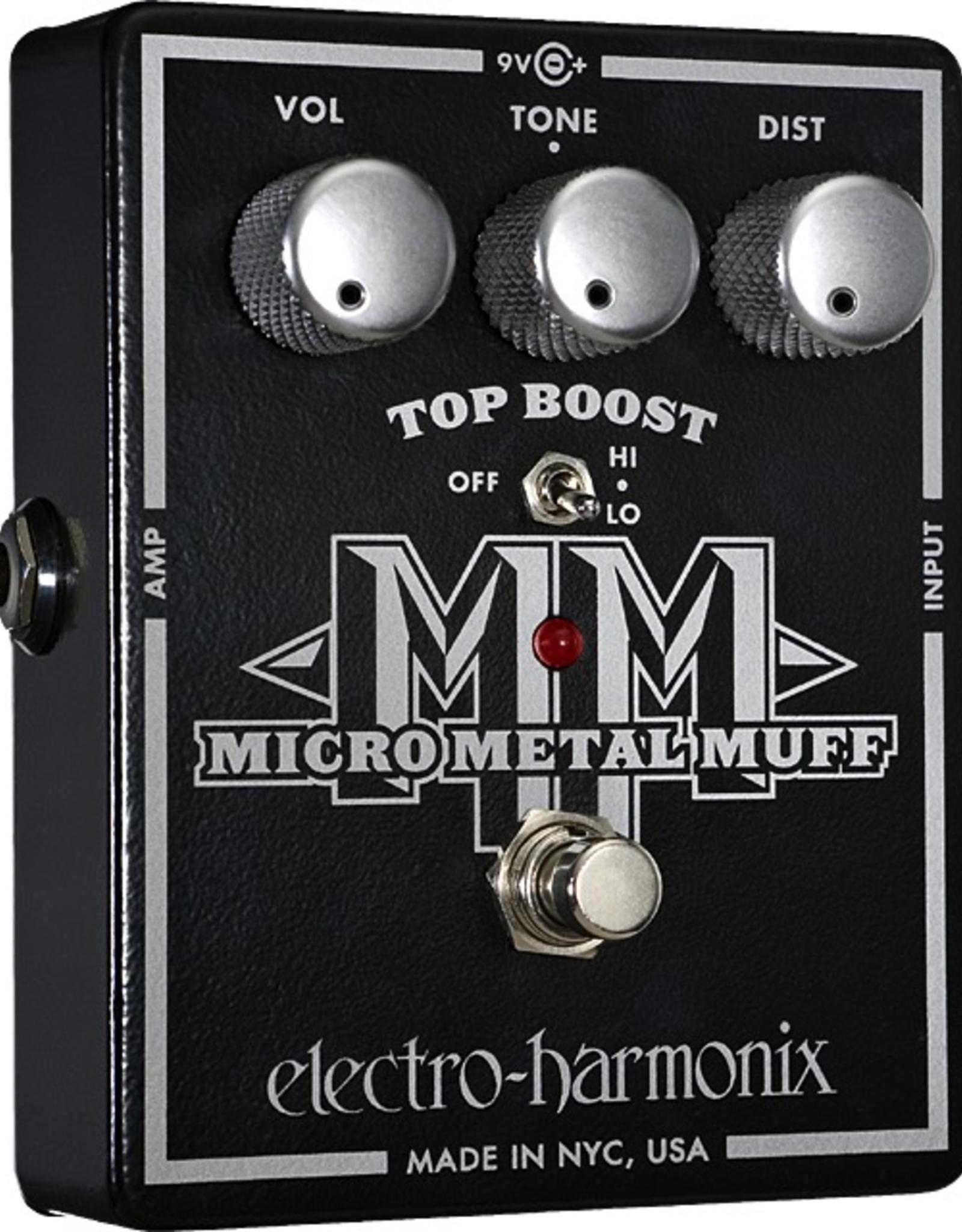 Electro-Harmonix Electro-Harmonix Micro Metal Muff Distortion w/ Top Boost