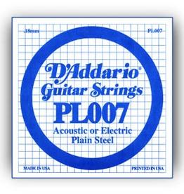 D'Addario D'Addario .010 Plain Steel Single Guitar String