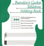 Brandon Press Brandon's Guitar Tablature Writing Book