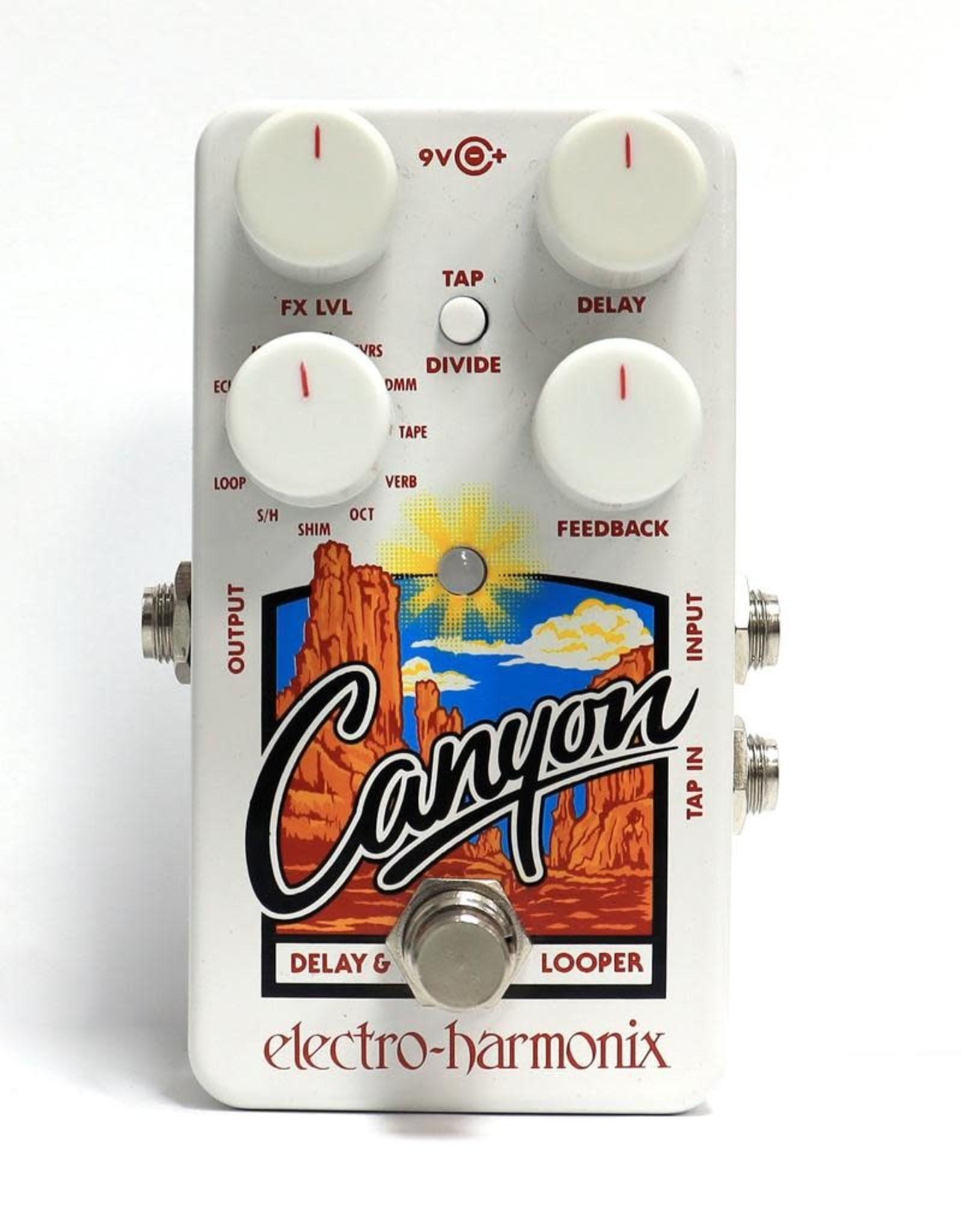 Electro-Harmonix Electro-Harmonix Canyon - Delay and Looper, 9.6DC-200 PSU included