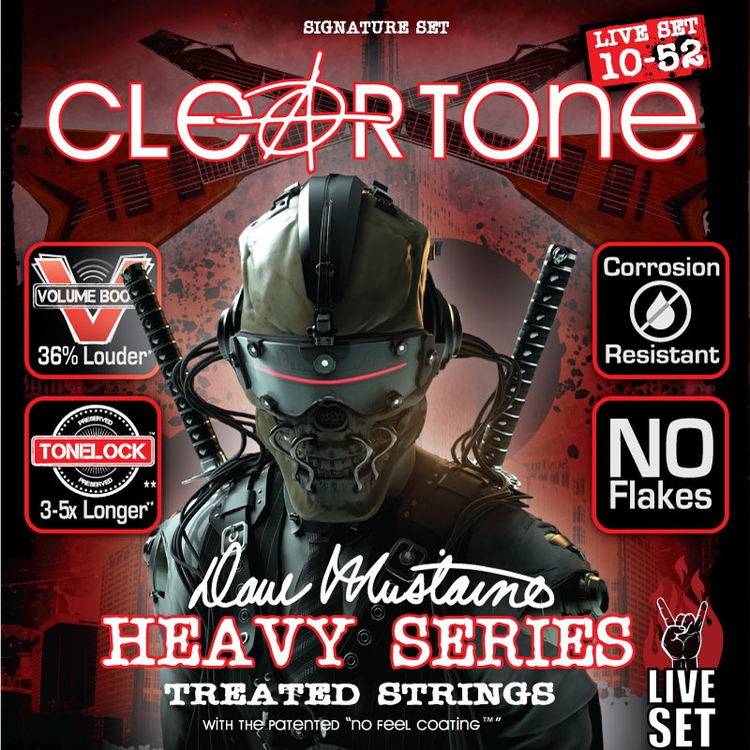 Cleartone Dave Mustaine 10-52