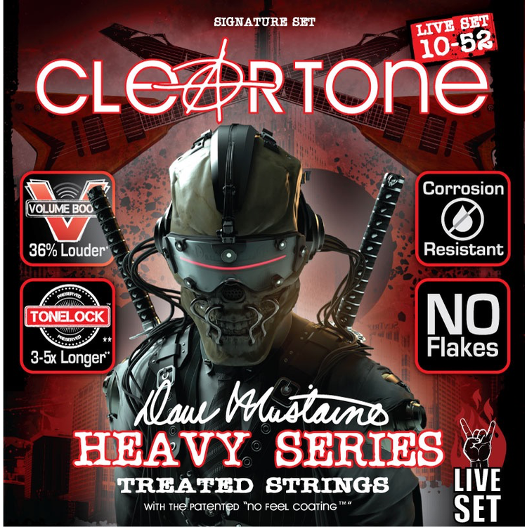 Cleartone Cleartone Dave Mustaine 10-52