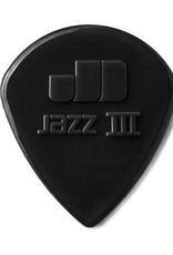 Dunlop Dunlop Nylon Jazz III Stiffo - 6 Pack
