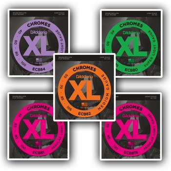 D'Addario D'Addario Chromes Electric Guitar Strings